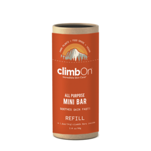 Climb On Mini Lotion Bar Refill Pack (4x14g)