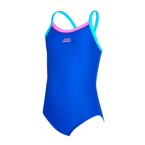 Zoggs Kerrawa Strikeback Blue Junior Swimming Costume