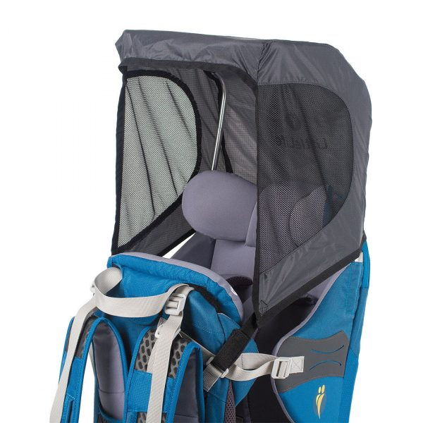 RAIN COVERThe child carrier rain cover fits all LittleLife child carriers and will keep your precious cargo nice and dry on blustery days. This waterproof cover with simple aluminium frame will protect both child and carrier. The front window can be rolled up or left down for complete protection.Note for Parents: Suitable for use with all LittleLife Child CarriersLightweight, compact and easy-to-useTPU window for easy viewingHigh quality aluminium poles includedWeight: 330gDimensions: 105 x 32 x 27cmSUN SHADEThe child carrier sun shade is compatible with all LittleLife child carriers. On sunny days keep your little one protected from harmful UVA and UVB rays with this easily added canopy. With an UPF 50 rating this will protect your little cargo from harmful sun rays, making it the perfect shaded spot for an afternoon nap.Note for Parents: Suitable for use with all LittleLife Child CarriersLightweight, compact and easy-to-useHigh quality aluminium poles includedWeight: 165gDimensions: 33 x 23 x 27cmCompatible: Suitable for use with all LittleLife Child Carriers