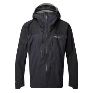 Rab Mens Zenith Waterproof Jacket Black