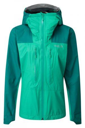 Rab Womens Zenith Waterproof Jacket Atlantis