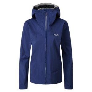 Rab Womens Meridian Waterproof Jacket Blueprint