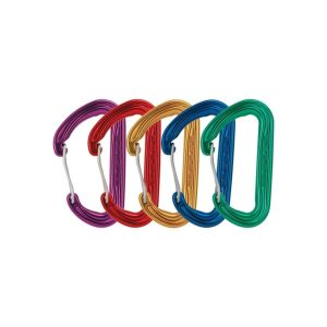 DMM Phantom Wiregate Carabiner 5 Pack Assorted Colour
