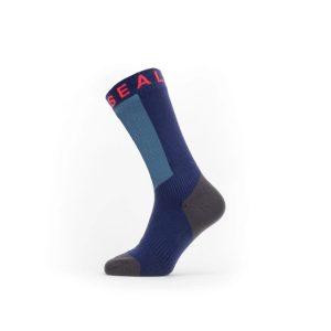 Sealskinz Waterproof Warm Weather Mid Length Sock with Hydrostop