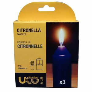UCO Citronella 9 Hour Candles 3PK