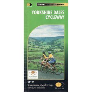 Harvey Maps Yorkshire Dales Cycleway (NY10) XT120